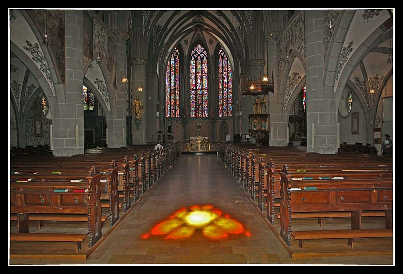 St. Laurentius Kirche in Ahrweiler - Innenansicht