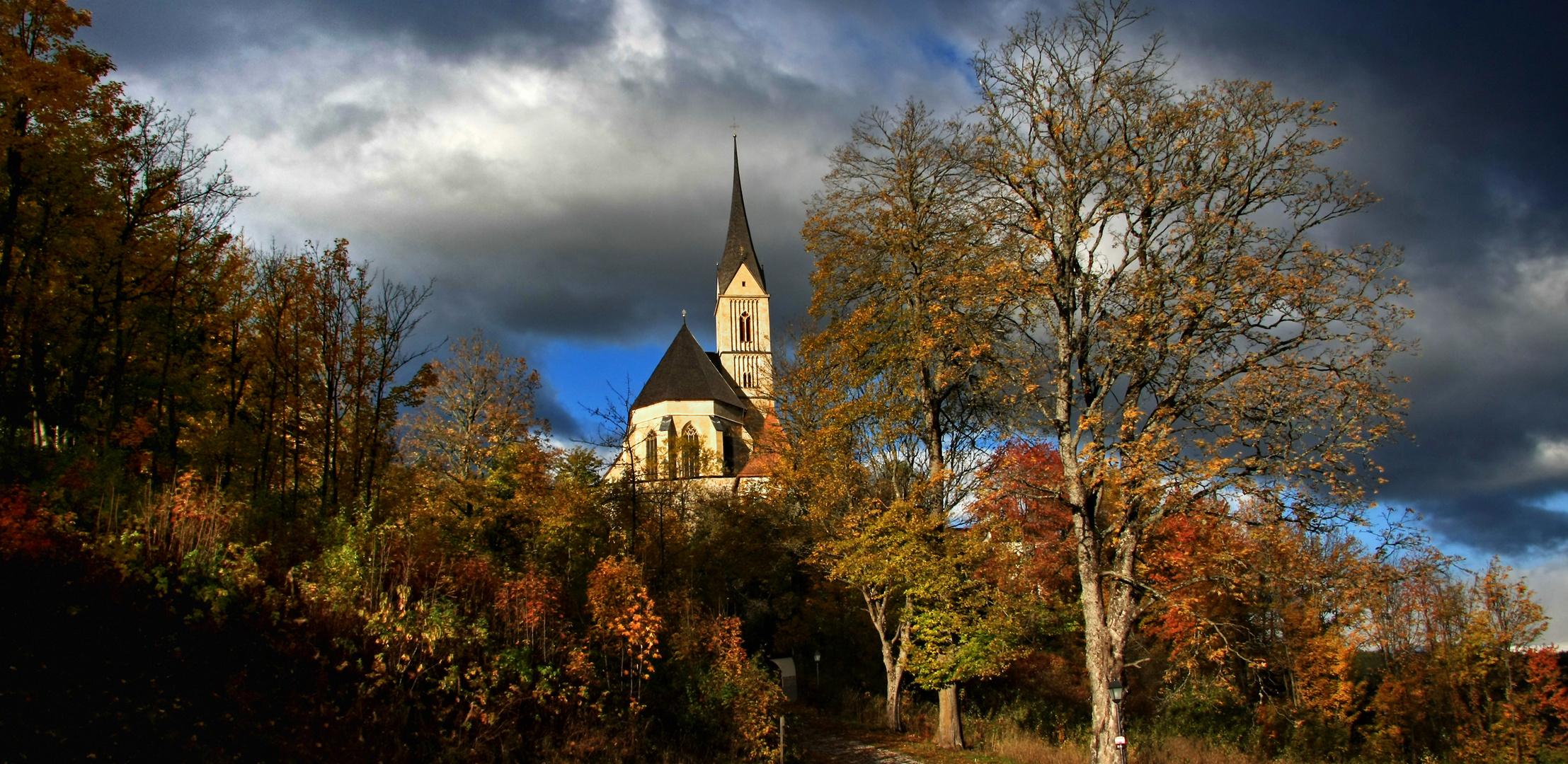 St. Leonhard bei Tamsweg im Herbst