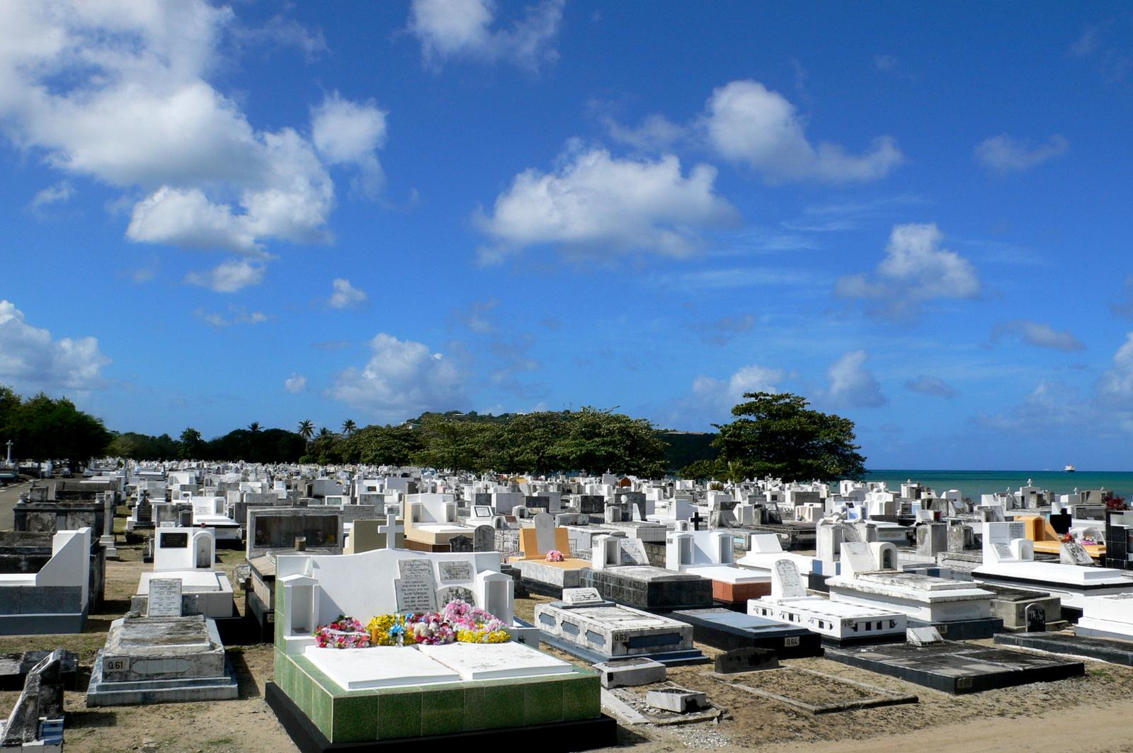 St. Lucia - Der alte britische Friedhof