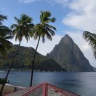 St Lucia - Sufrière and the Petit Piton