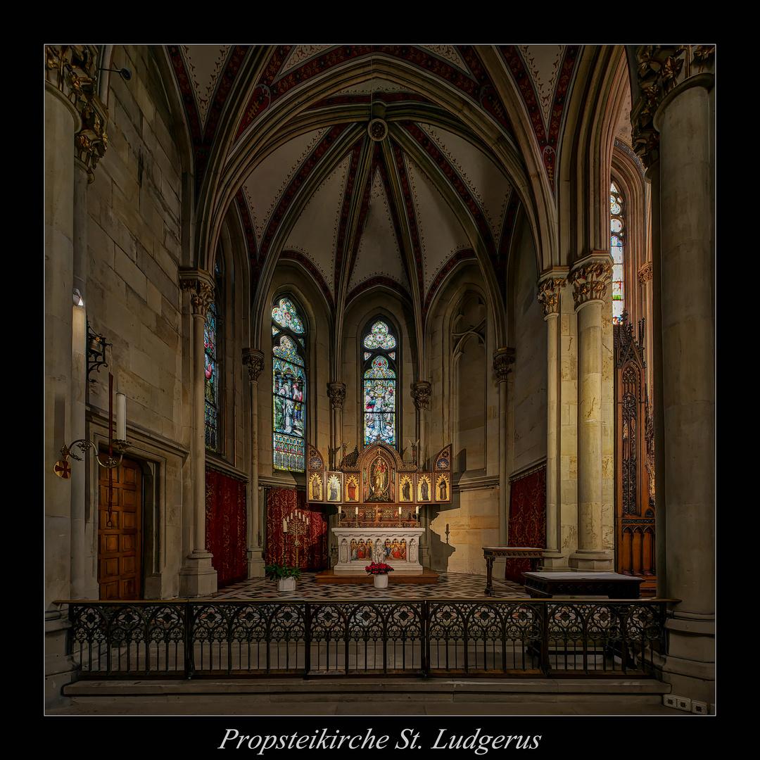 """St.  Ludgerus (Billerbeck) """" Gott zu Gefallen..."""""""