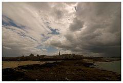 St. Malo kurz vor dem Regen