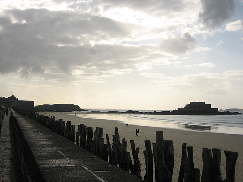 St Malo, the Low Tide