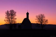 St. Maria Zell im Morgenrot