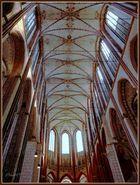 St. Marien zu Lübeck  -  Mittelschiff