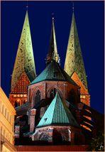 St. Marien zu Lübeck  - Rückansicht