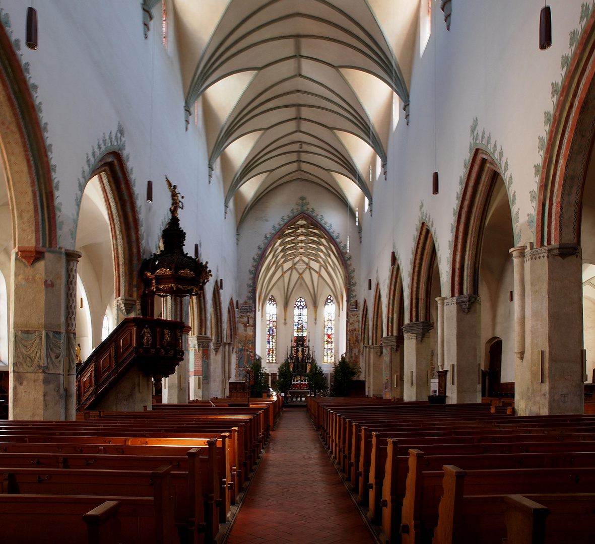 St. Martin in Memmingen Foto & Bild | architektur