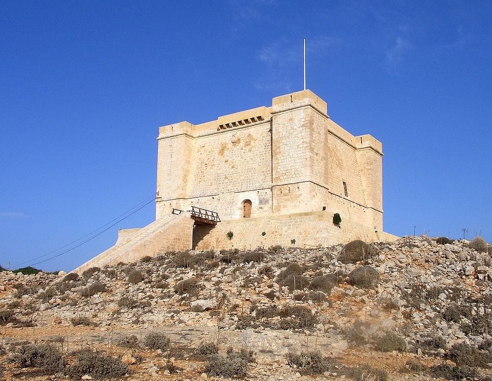 St Mary's Tower bzw. Comino Tower