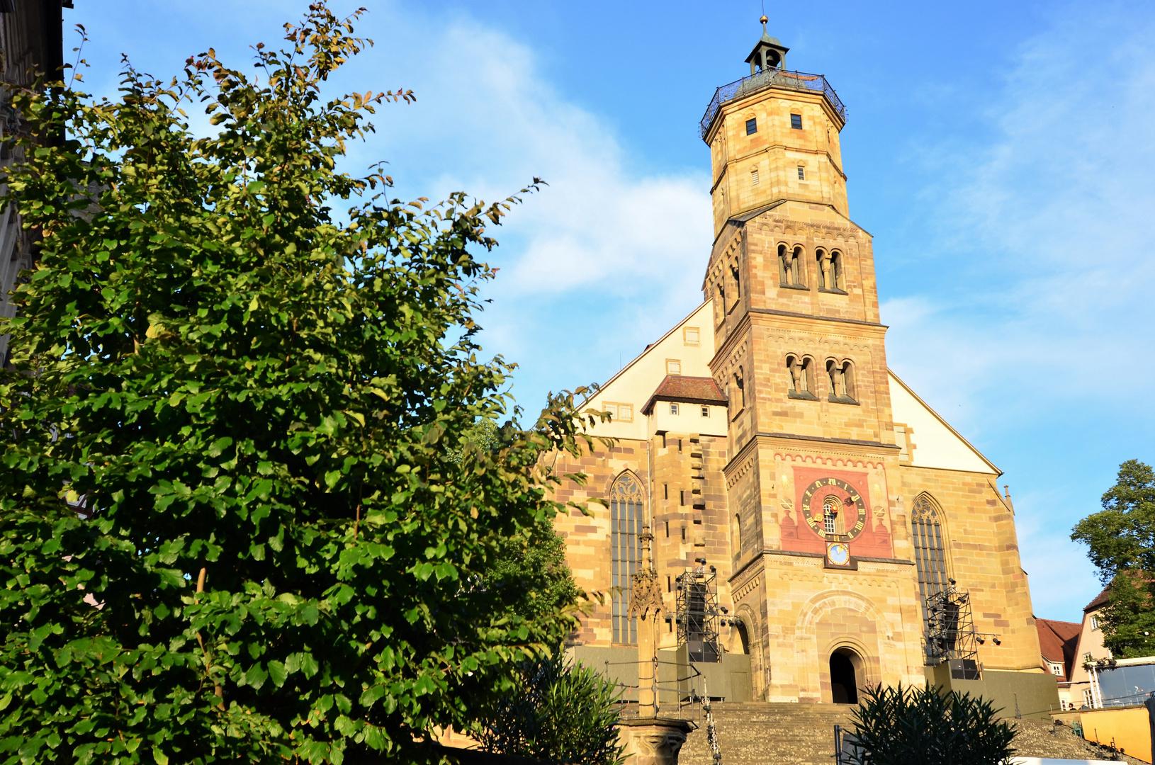 St. Michaels Kirche, Schwäbisch Hall Foto & Bild | architektur ...