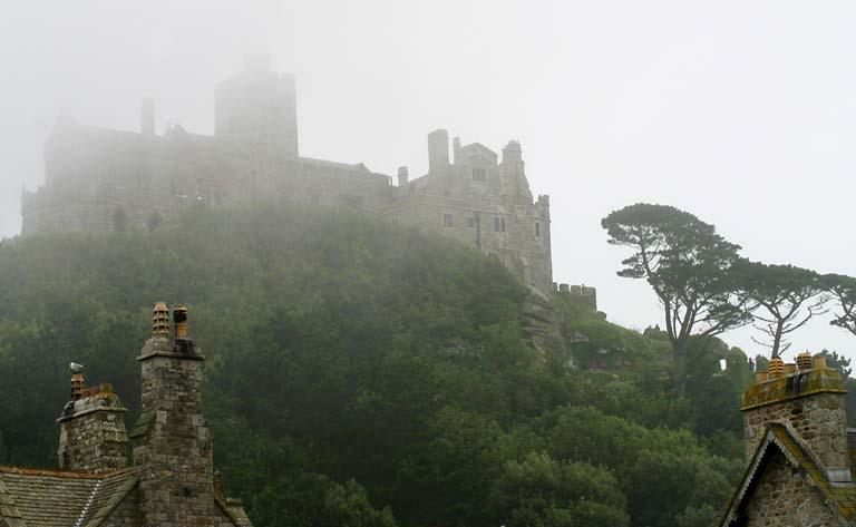 St. Michael's Mount im Nebel...