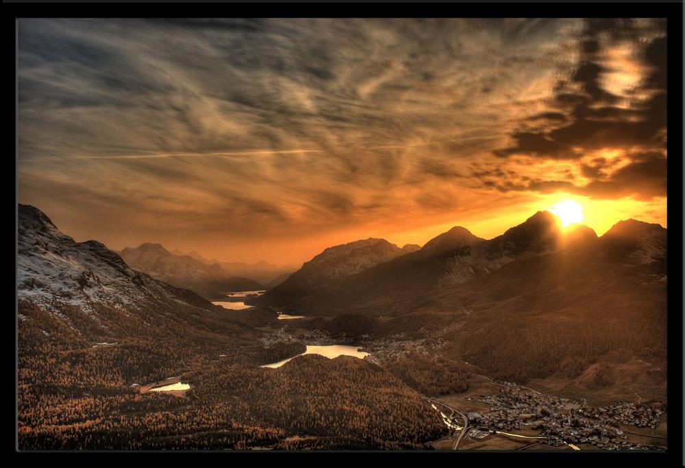 St-Moritz by Night
