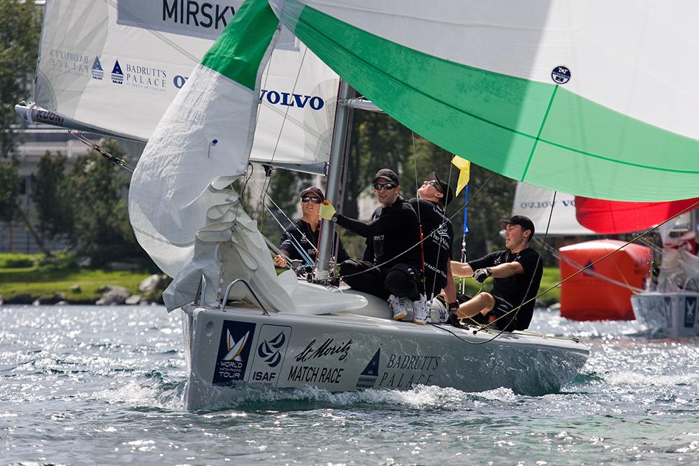 St. Moritz Match Race 8