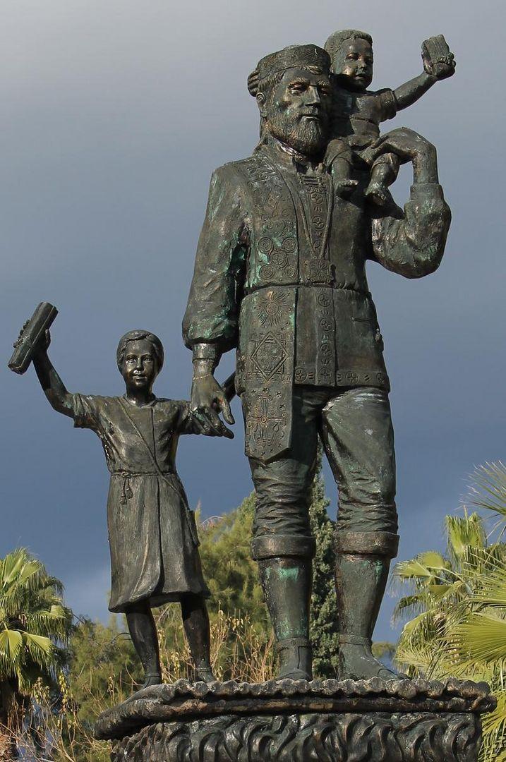 St. Nikolaus-Denkmal in Myra/Demre