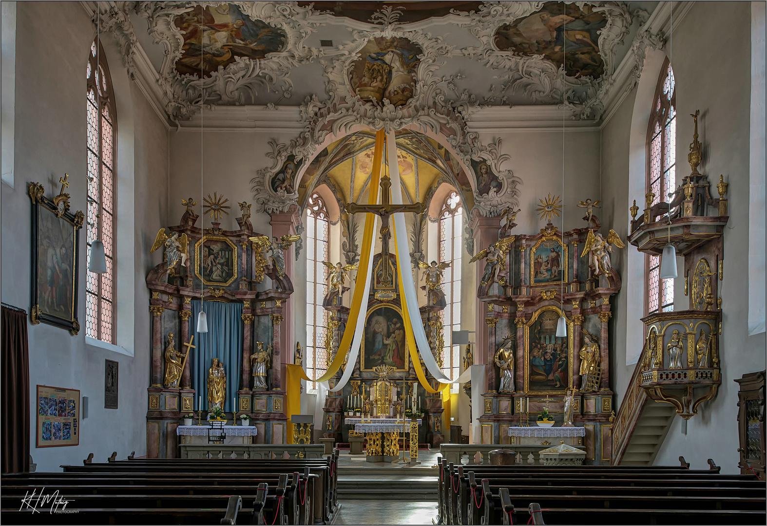 """St. Nikolaus - Geldersheim """" Gott zu Gefallen..."""""""
