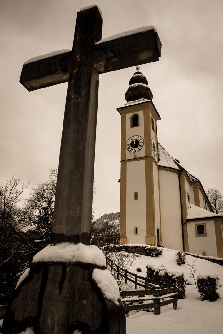 St. Pankraz Kirche in Karlstein, Bad Reichenhall