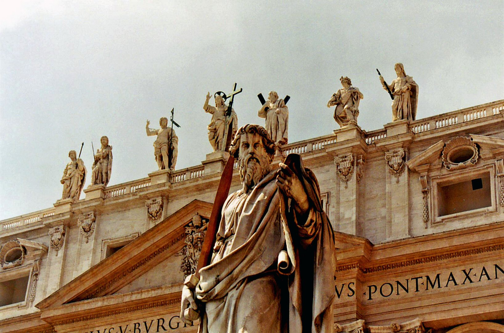 St. Paul at St. Peter's Square, Vatican City