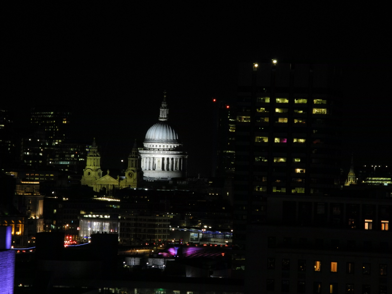st paul's cathedral aus dem London eye