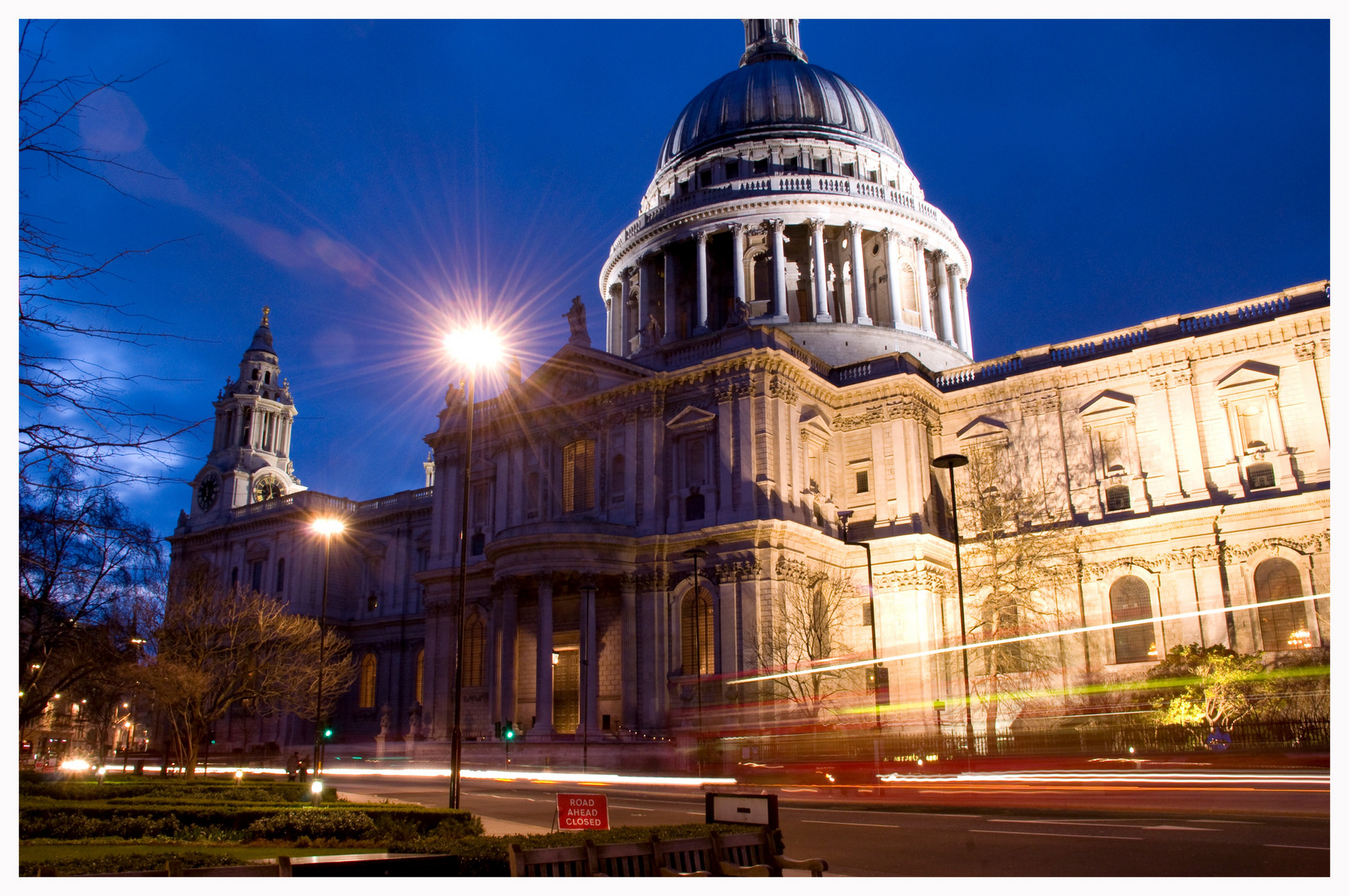 St. Pauls Cathedral @ Night