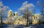 St.-Paulus-Dom im Winter