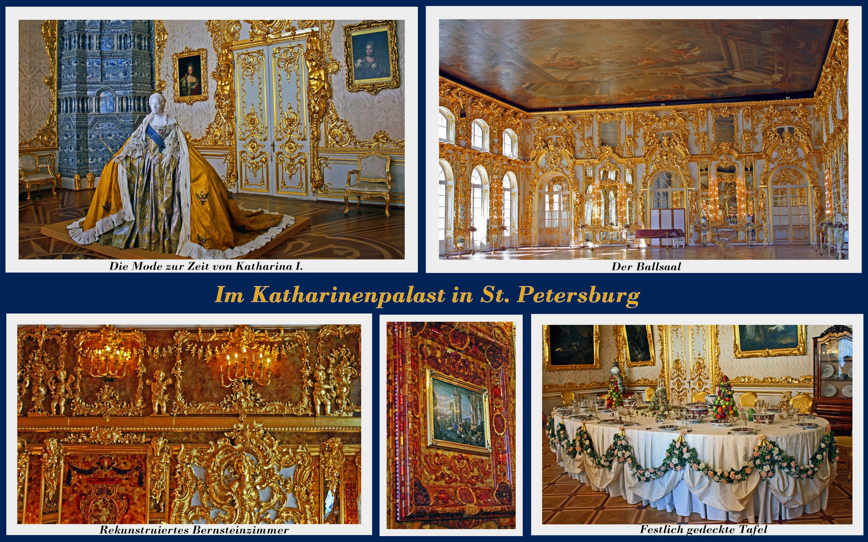 St. Petersburg, Katharinenpalast