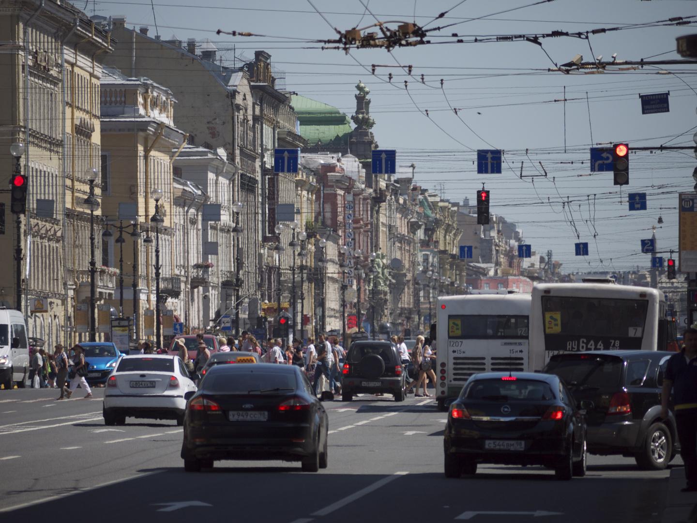 St. Petersburg - verkabelt!