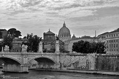 St- Peterskirche mit Ponte Sant Angelo