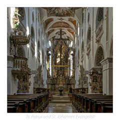 """St. Petrus und St. Johannes Evangelist-Ursberg """" Gott zu Gefallen..."""""""