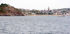 St Sulliac, vu depuis la Rance ...