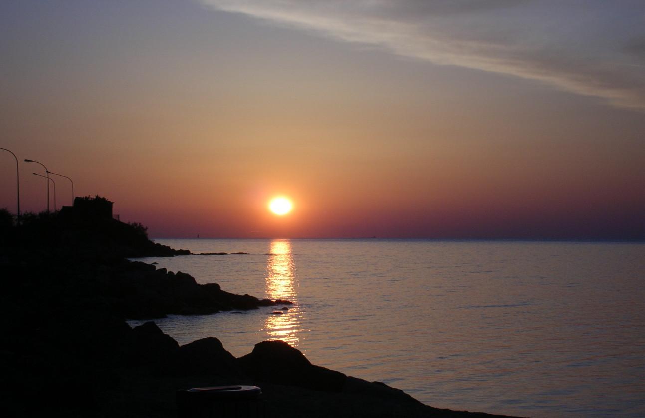 St. Tropez 2006. Sunset 2.