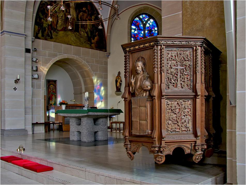 St. Urbanus Kanzel