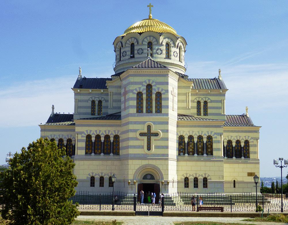 ST. Vladimir Kathedrale in Sewastopol