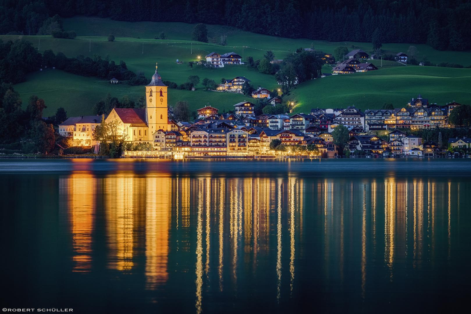 St. Wolfgang im Lichterglanz