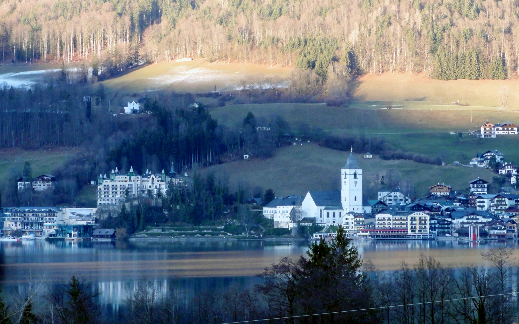 St. Wolfgang, Westansicht