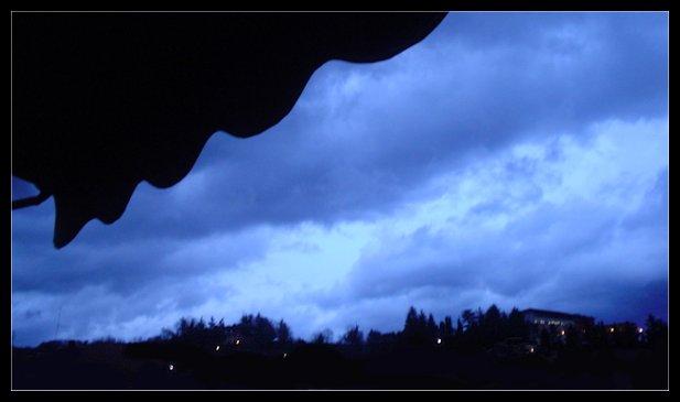 Sta per piovere..