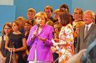 Staatsbesuch: Ich stehe neben der Kanzlerin... von propolis