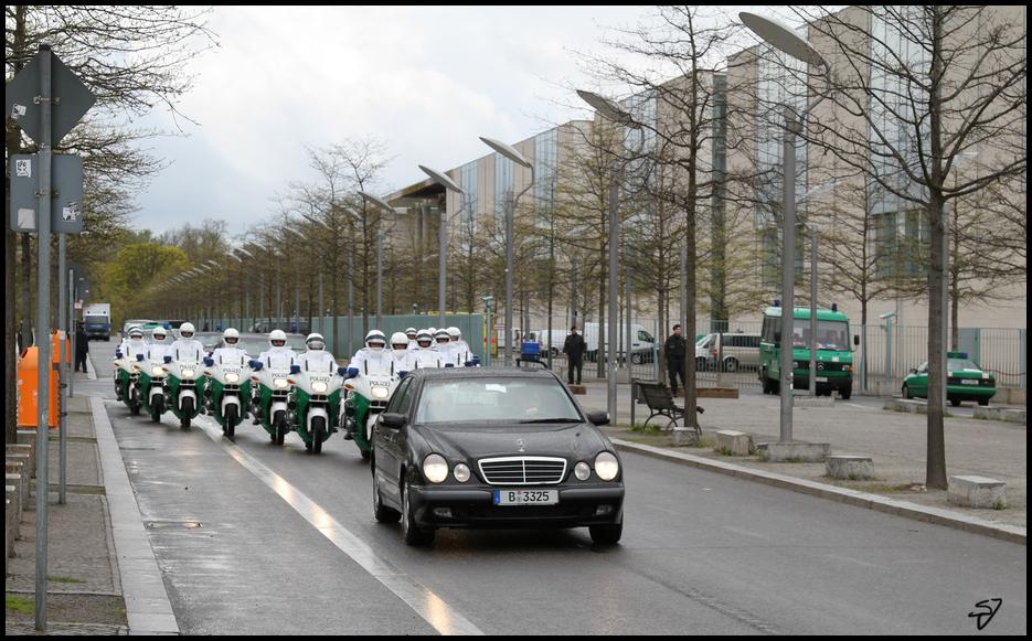 Staatsbesuch Königin Beatrix in Berlin 1