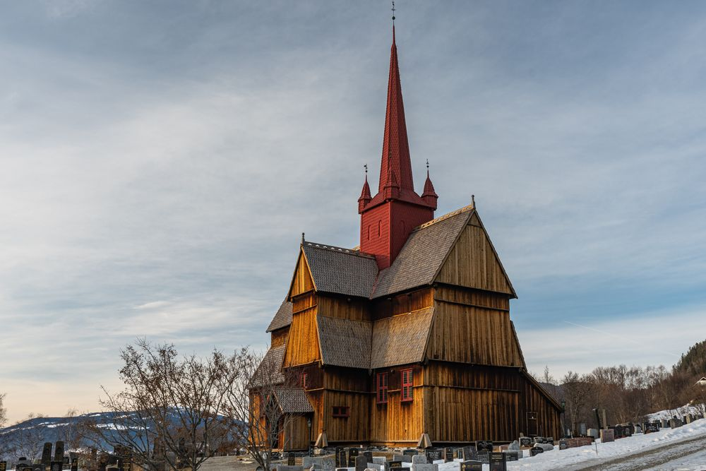 Stabkirche bei Ringebu
