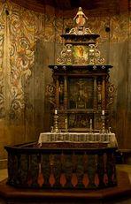 Stabkirche Heddal - Der Altar