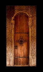Stabkirche Heddal - Die Eingangstür
