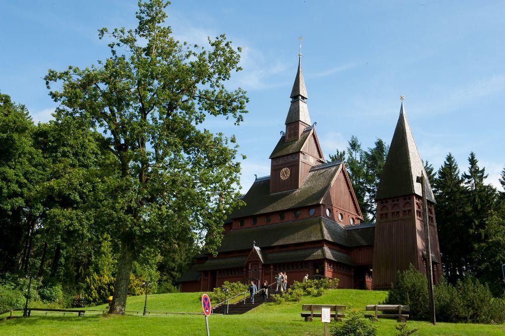 Stabkirche in Hahnenklee-Bockswiese