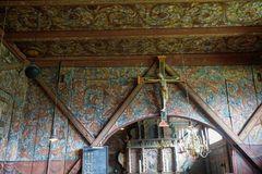 Stabkirche Roldal_Innen