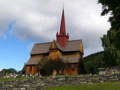 Stabkirche von Ringebu / Norwegen