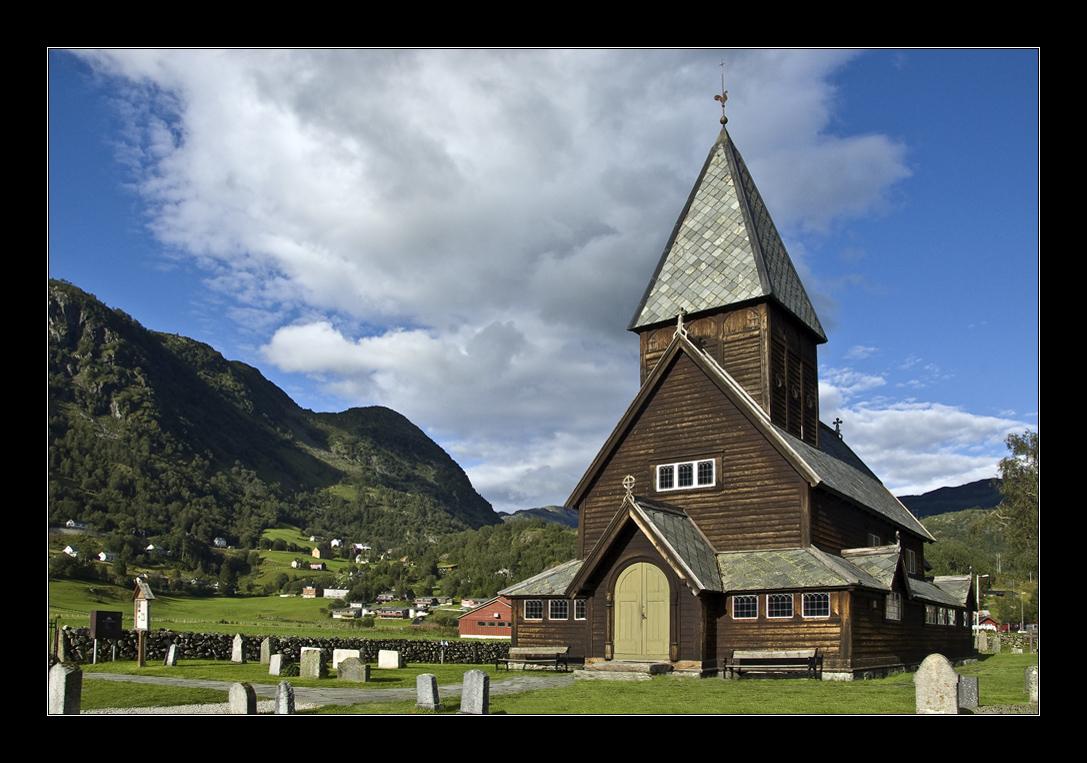 Stabkirche von Røldal.