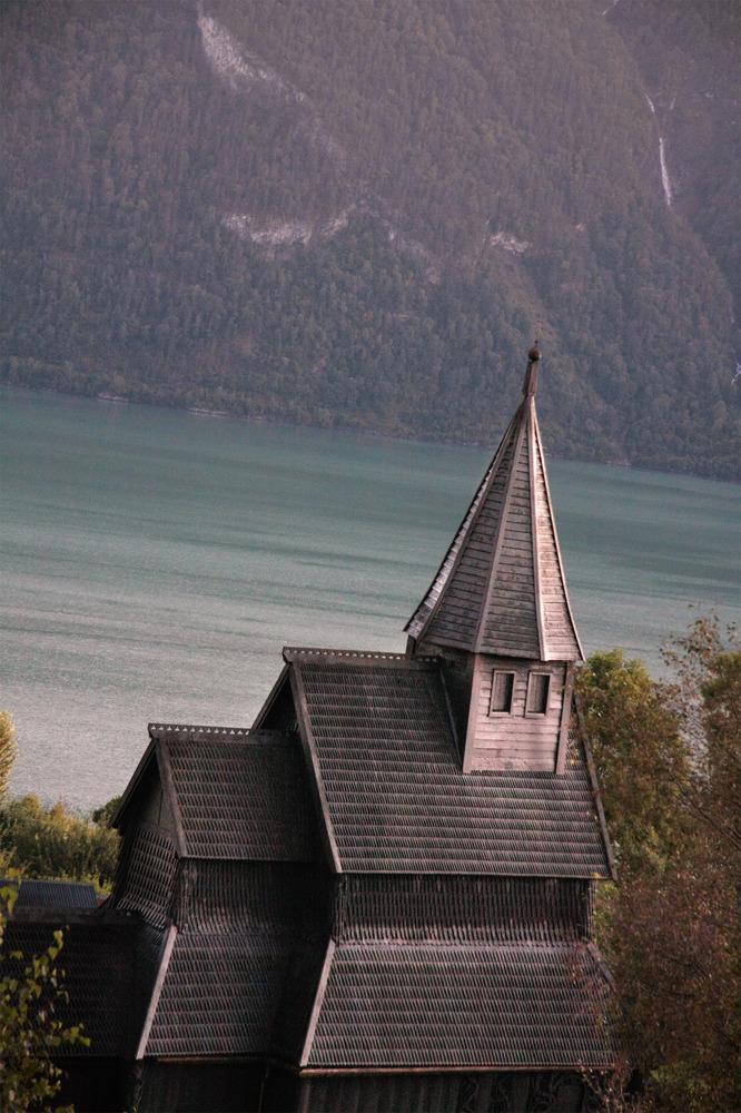 Stabskirche in Urnes
