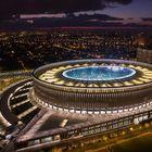 Stadium in Krasnodar city.Russia.