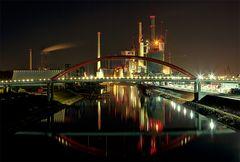 Stadt aus Licht