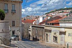 Stadt der sieben Hügeln Lisboa