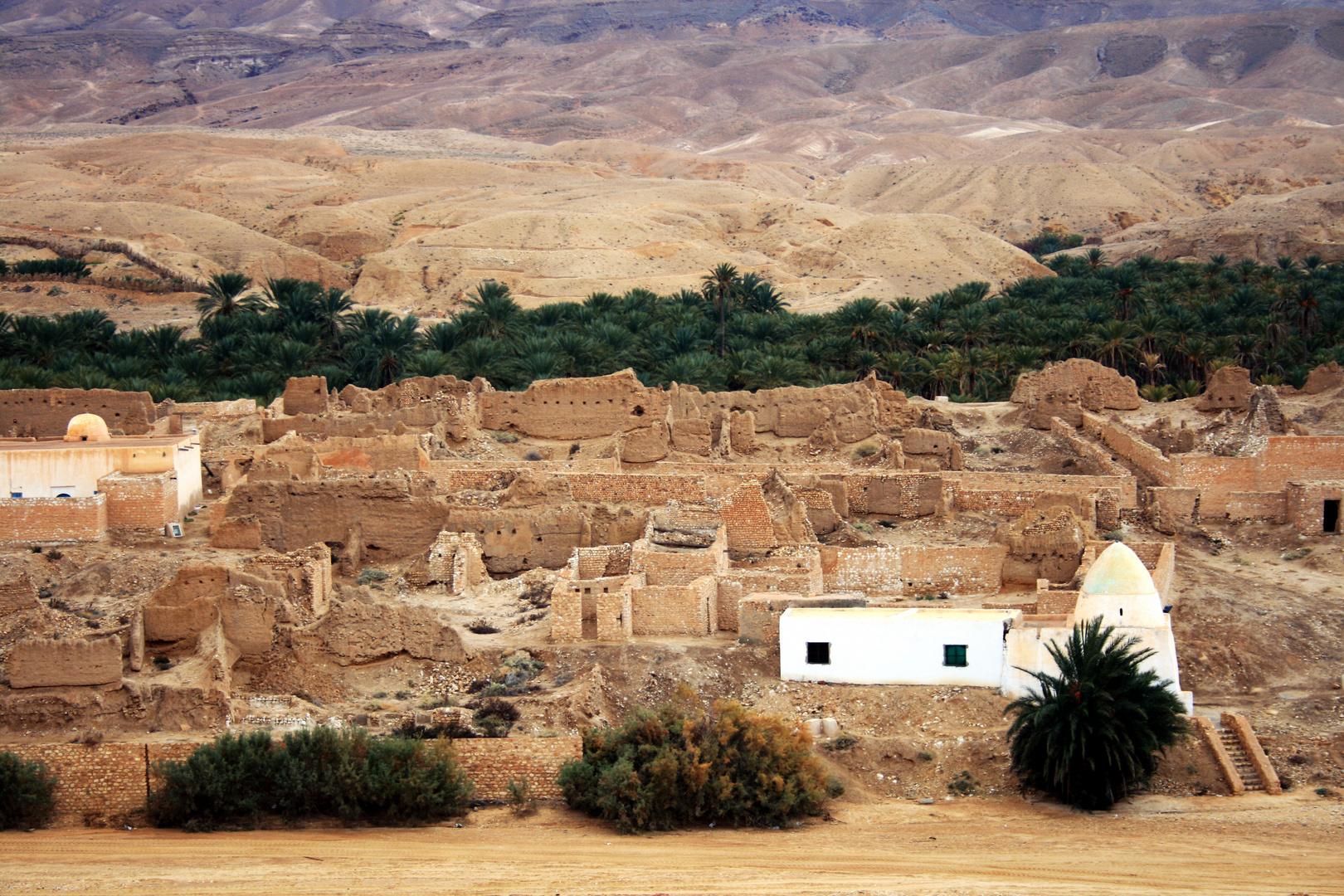 Stadt in der Wüste