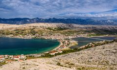 Stadt Pag, Dalmatien, Kroatien