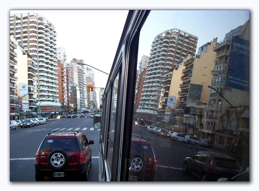 Stadtaderspiegelung